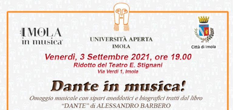 Imola in Musica 2021 – Dante in Musica!